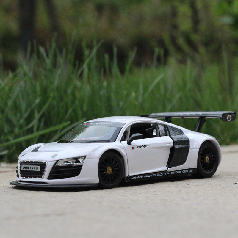 Audi R8 Ebay: Audi R8 LMS Model Cars 1:24 Toys Open Two Doors Collection
