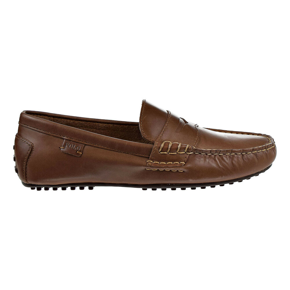 2af32c8bc35 Polo Ralph Lauren Mens Wes Penny Loafer Polo Tan 803200174-1dm