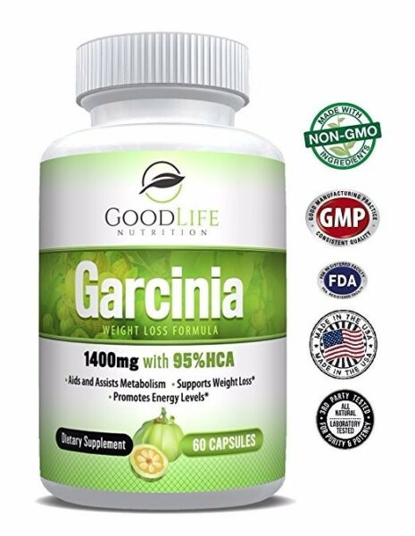 Pure Garcinia Cambogia 95% HCA Weight/Fat Loss Supplement Appetite Suppressant