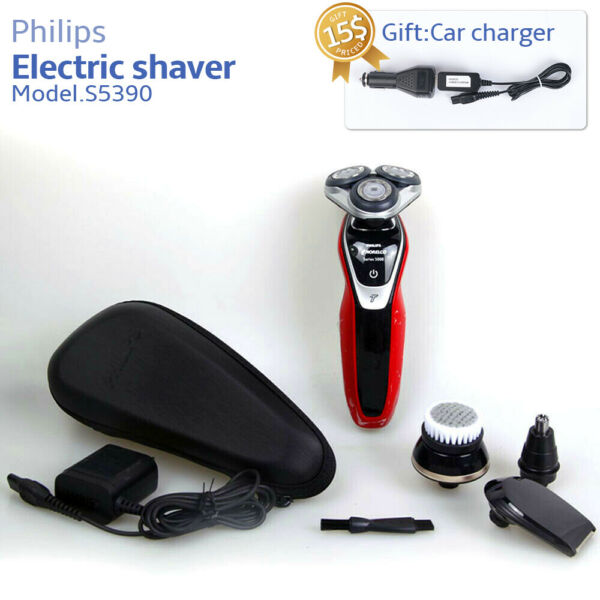 Philips Norelco Wet & Dry Electric Shaver 5000 S5390 Turbomode & SmartClick