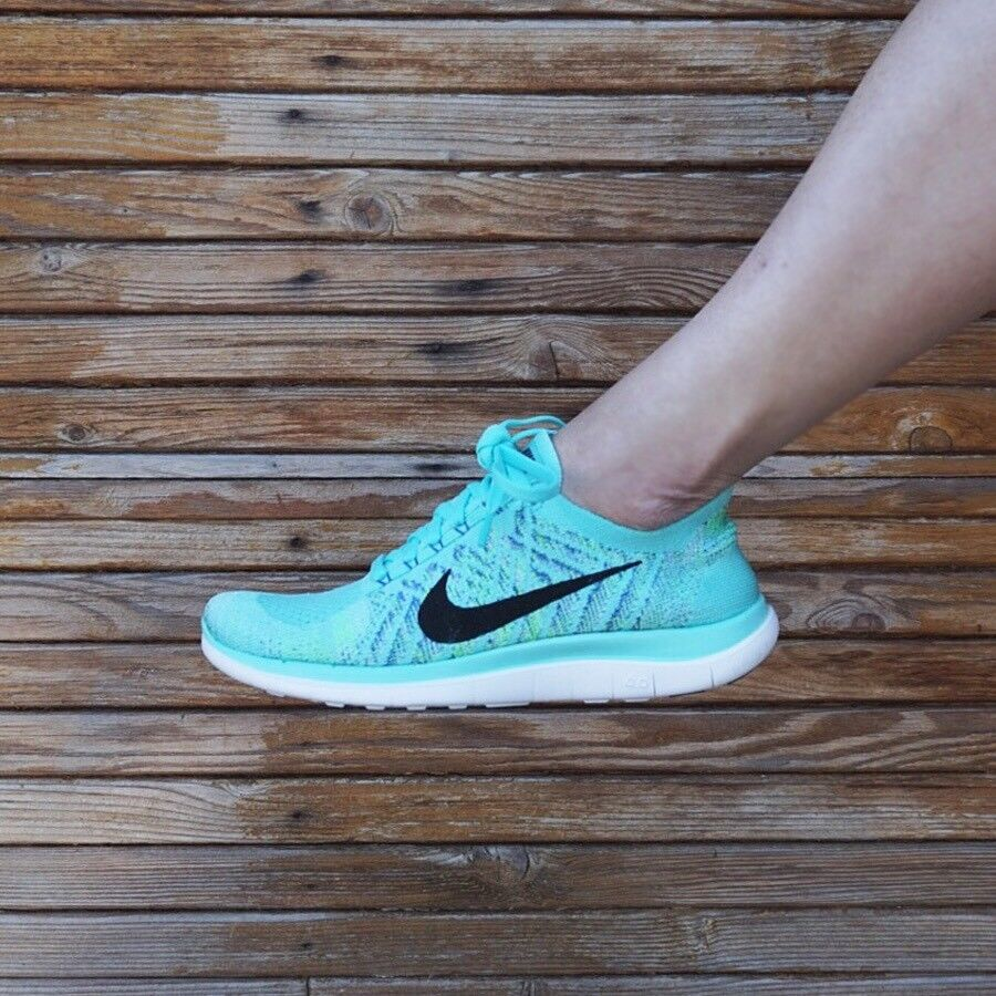 detailed look f1833 73f3a Details about New Nike Free 4.0 Flyknit Women s Running Shoes Rare Color  100% Authentic