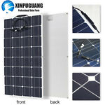 100w 16v Solar Panel Mono Cell Boat Home RV Motorhome Caravan Roof Yacht Charger