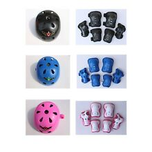Kid's Skateboard Longboard Helmet and Knee & Elbow Pads Wrist Guard Combo Set