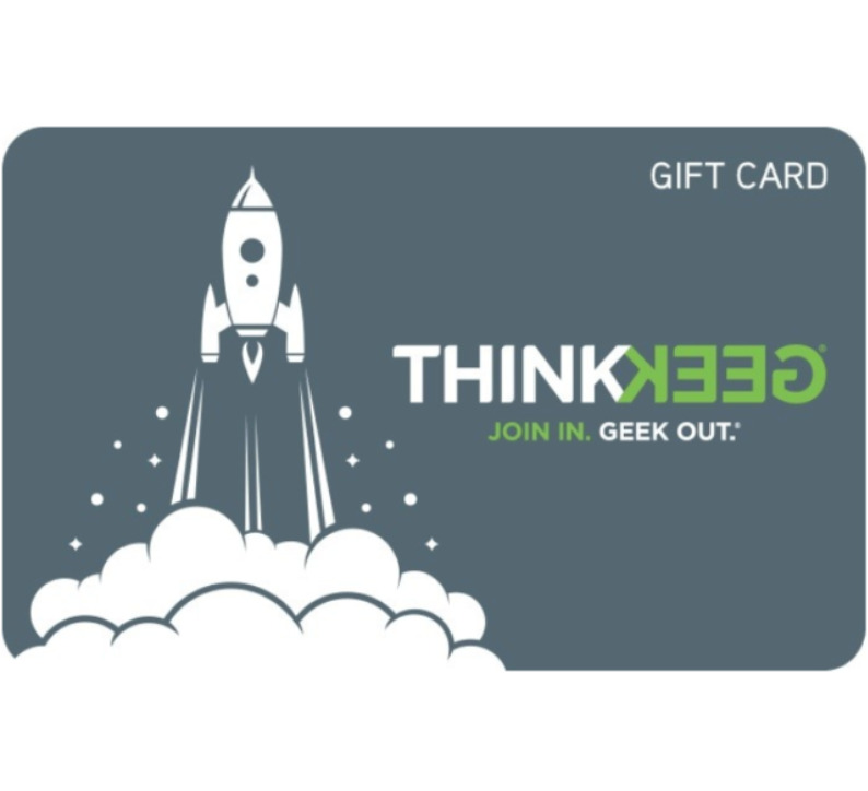 Get a $100 Gamestop Thinkgeek Gift Card for only $90 - Email delivery