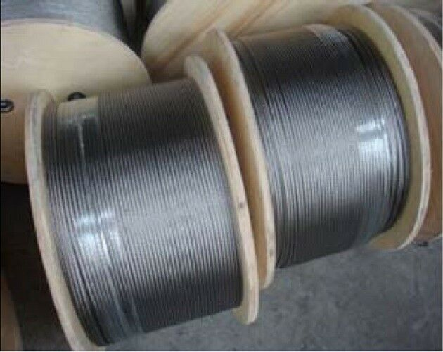 3.2mm 7 X 19 Balustrade 316 Stainless Steel Wire Rope 305 Metres | eBay