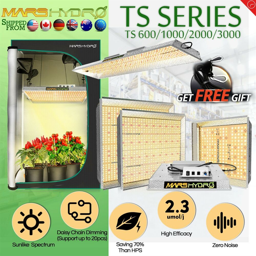 mars hydro reflector led grow vollspektrum wachsen licht f r pflanzen bl te ebay. Black Bedroom Furniture Sets. Home Design Ideas