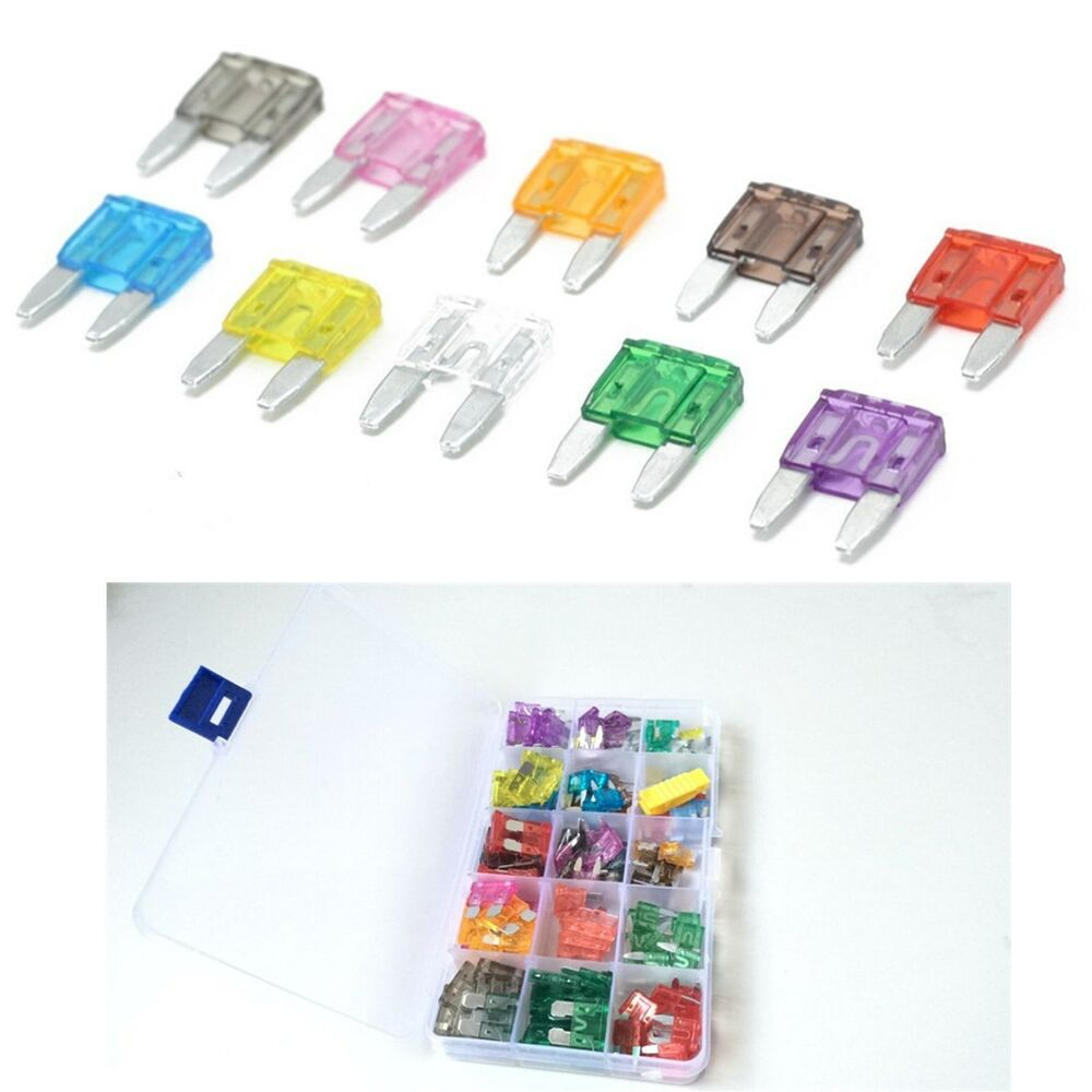 165pc Automotive Replacement Variety Mini Blade Fuse Holder Kit Car Nissan Np200 Box Accessories 6224464574288 Ebay