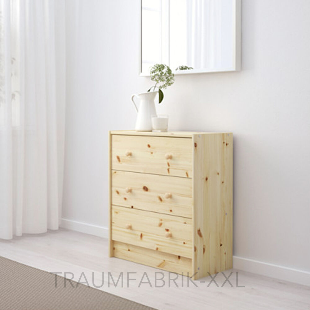 ikea rast commode avec 3 tiroirs pin bois massif armoire. Black Bedroom Furniture Sets. Home Design Ideas