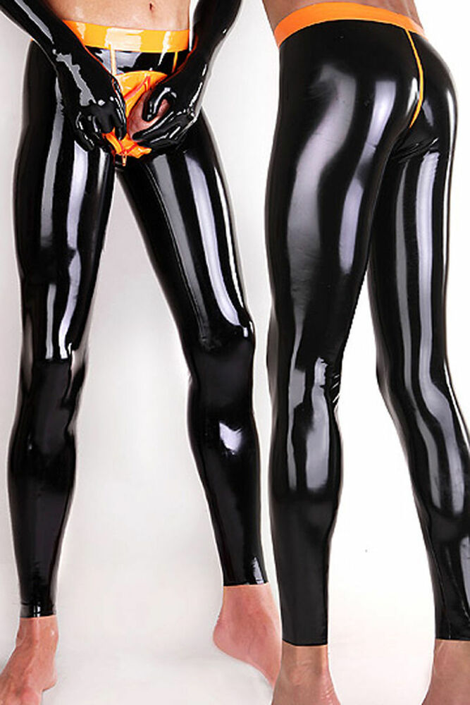 Latex leggings tube