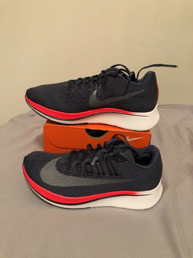 Women's Nike Zoom Fly - SIZE 5 - NEW - 897821-400 White Navy Crimson Blue  Black | eBay