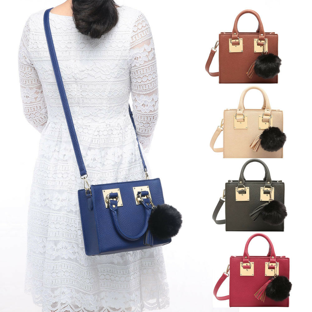 c15dea2c53 Aitbags Women Top Handle Purse Handbag Crossbody Bag Mini Tote ...