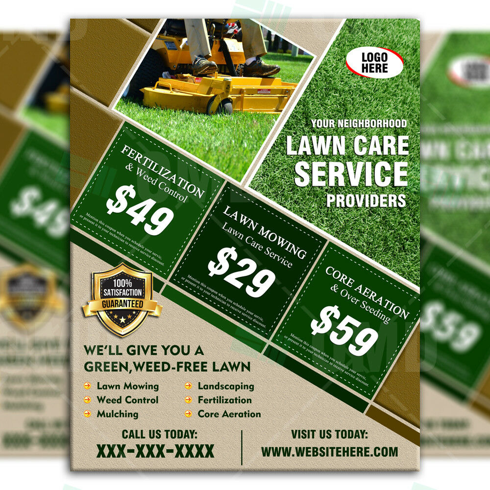 landscaping business business flyers
