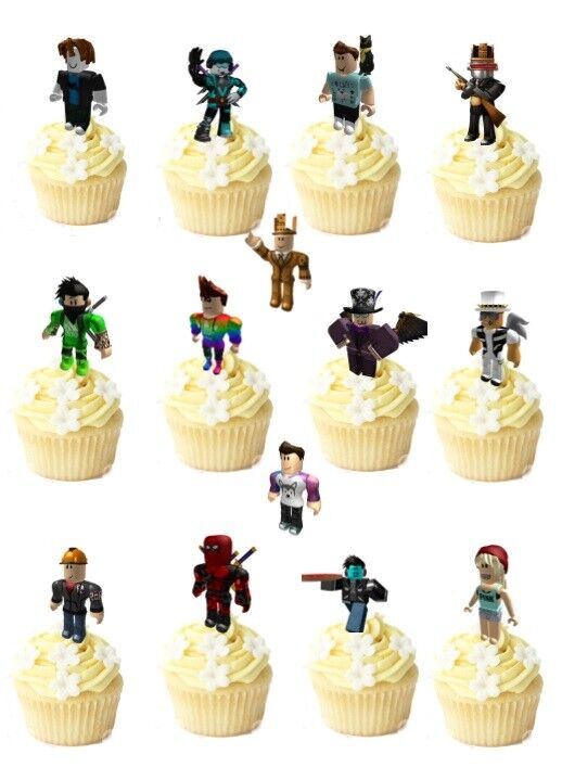 Roblox Birthday Cake Topper Ebay Uk