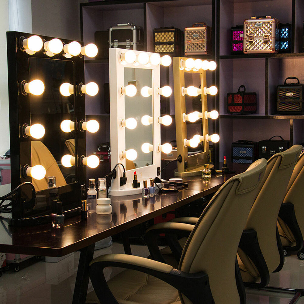 Vanity Led Mirror Light Bulbs Kit For Makeup Hollywood