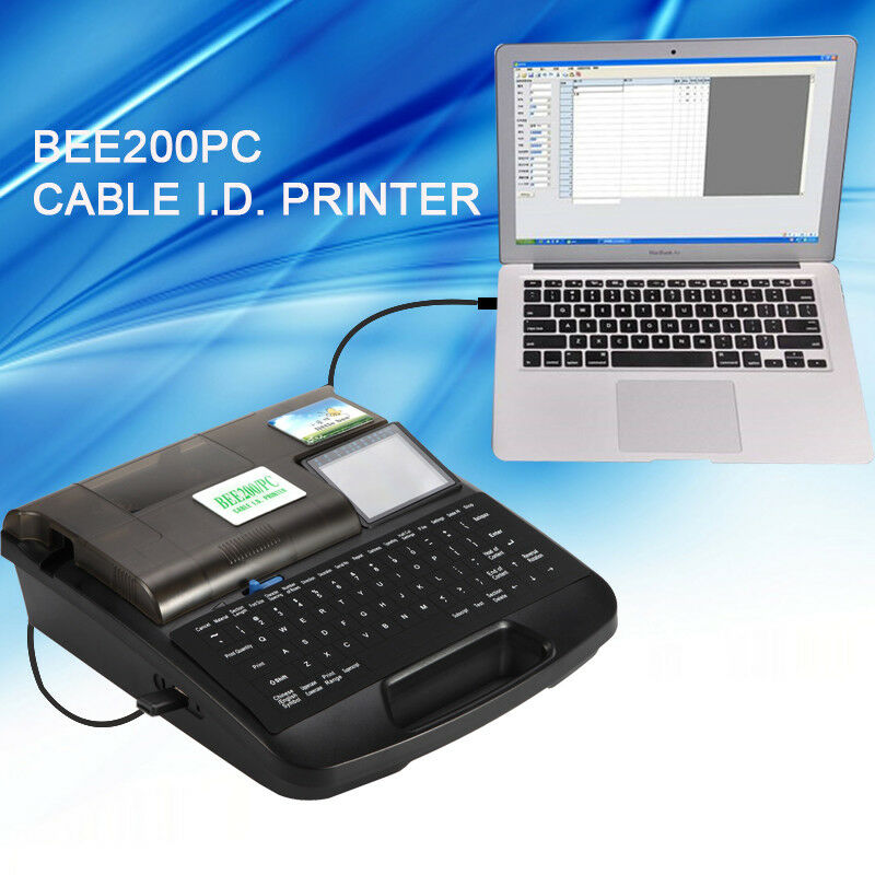 BEE200PC Cable ID printer wire printer tube printing machine Cable ...