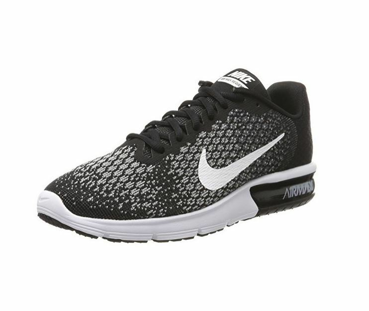 Details about Nike Air Max Sequent 2 Running Shoe Black White-Dark  Grey-Wolf Grey 852461 005 c7acdbec96