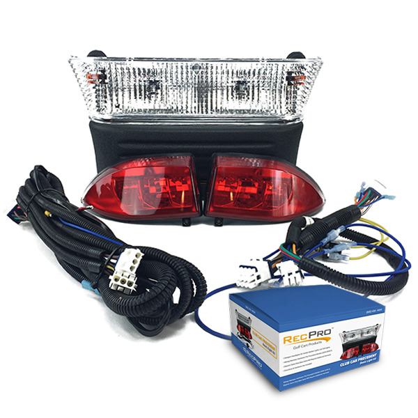 details about club car precedent electric cart light kit w led tail lights  08 5 - up