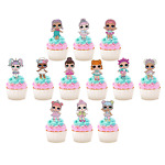 12x LOL Dolls Edible Cupcake Cake Toppers Fairy Birthday Decorations  #201