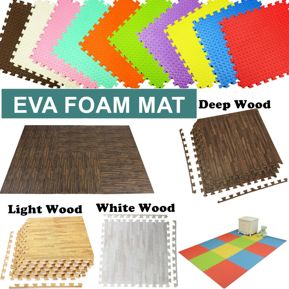 floor mats thick mma sqft clevr products red eva extra interlocking foam mat gym blue