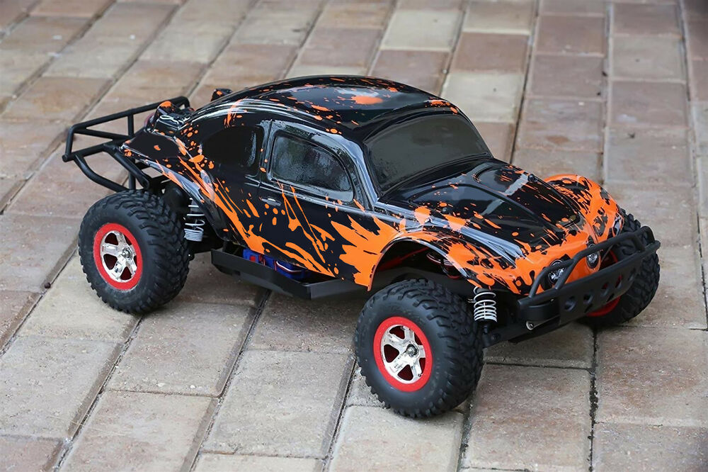 Custom Buggy Body Muddy Orange For Traxxas Slash 1/10