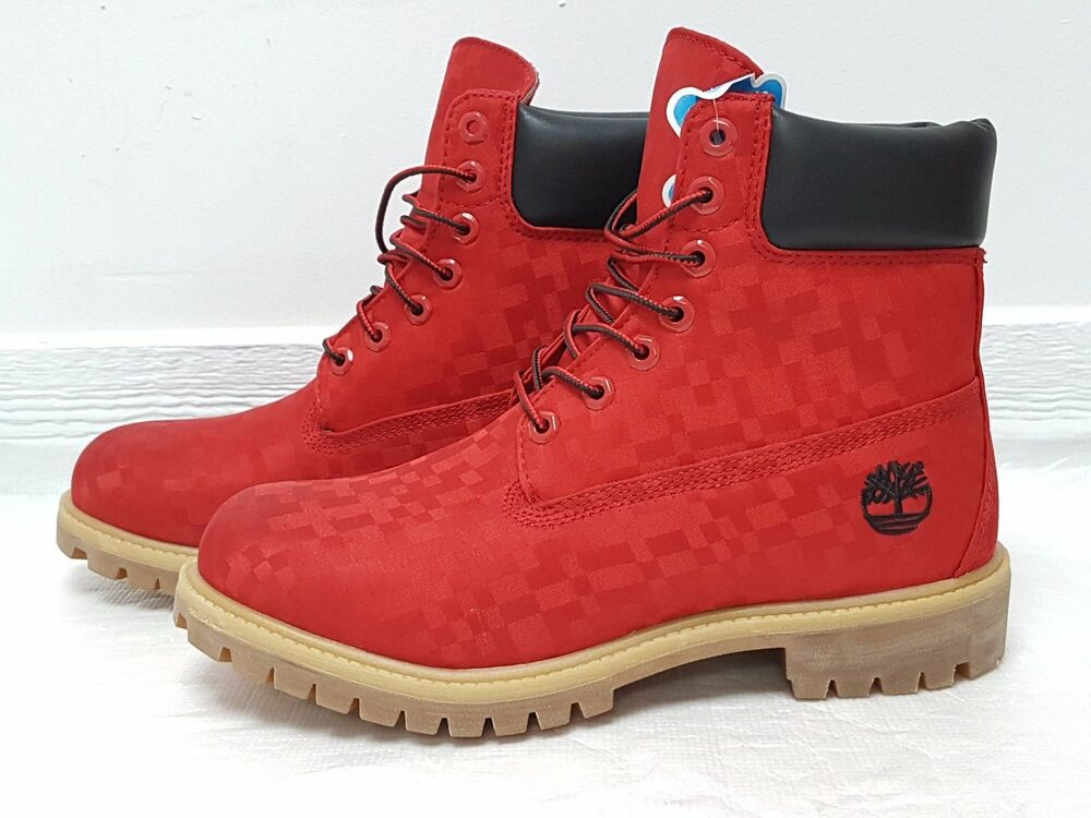 TIMBERLAND MENS LIMITED EDITION RED VALENTINES EXCLUSIVE ...