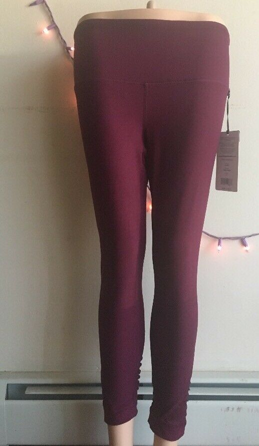 dd2702a667 Details about 90 Degree by Reflex Leggings Style CW63950 New SizeS Cherry  Jubilee High Waisted