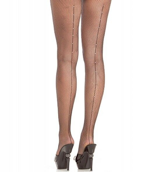 sri-lanka-rhinestone-back-seamed-pantyhose-cherry-black-picture