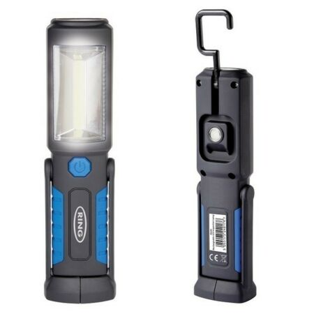 img-Ring Rechargeable COB LED Lamp Torch Emergency Work Light Magnetic Flexible USB