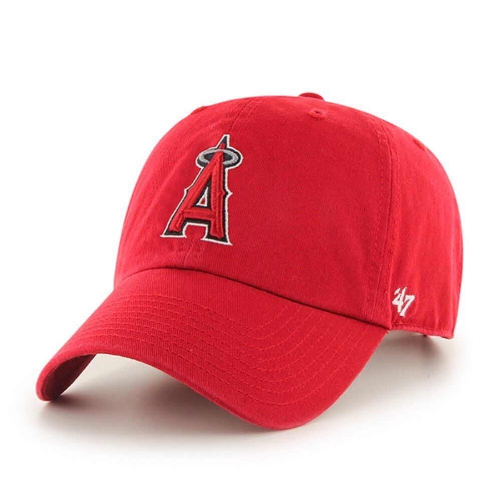 hot sale online 11e62 b75ac Details about Los Angeles Angels 47 Brand MLB Kids Clean Up Hat