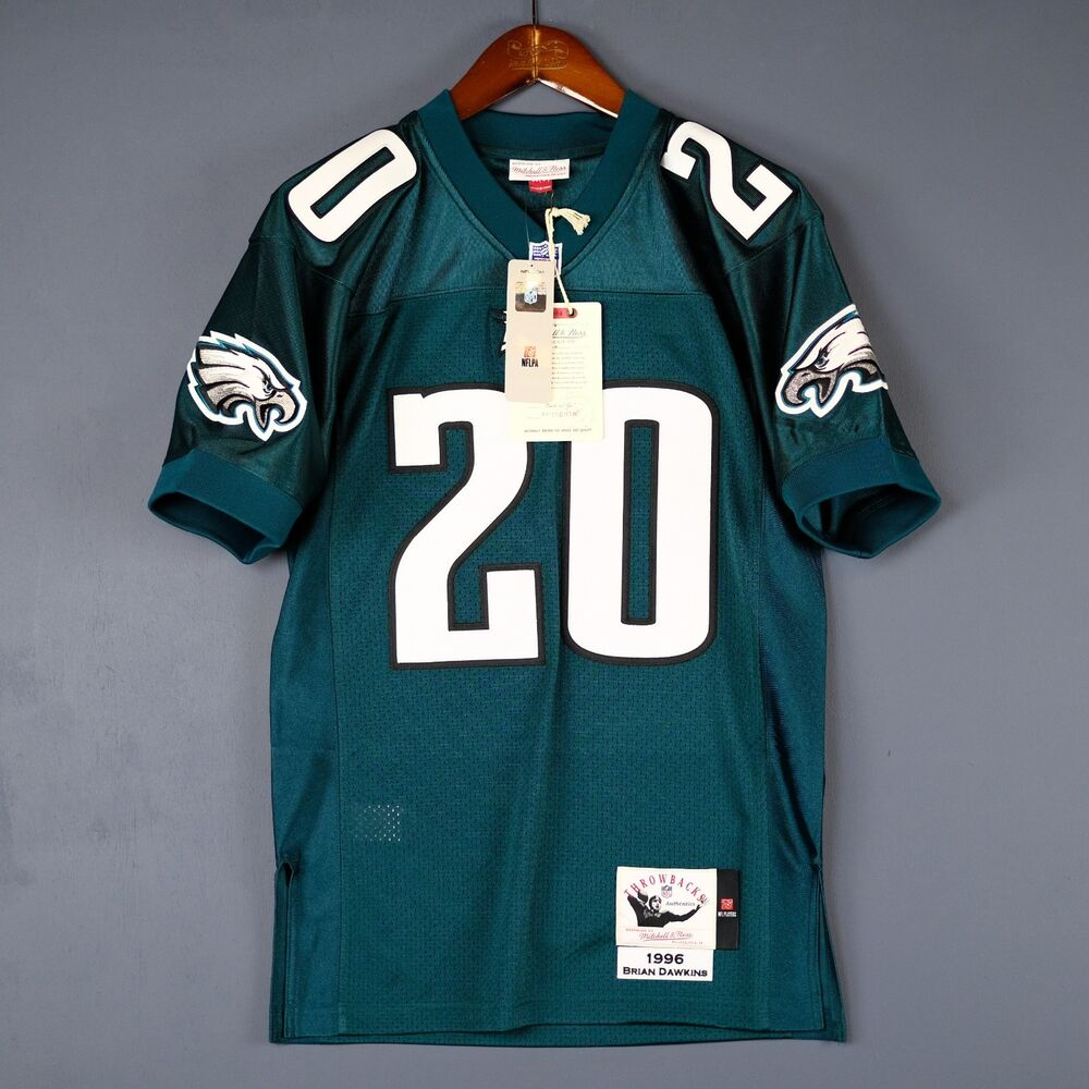 best service 975db fc416 100% Authentic Brian Dawkins Eagles Mitchell Ness NFL Jersey Mens Size 52  2XL | eBay