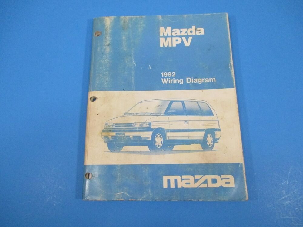 1992 Mazda Mpv Wiring Diagram Manual Ground Point
