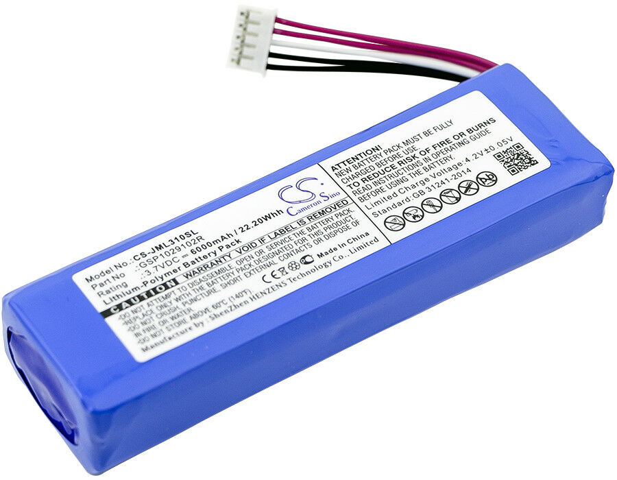 Battery for jbl charge 3 charge 2 plus charge 2 gsp1029102 gsp1029102r ebay - Jbl charge 2 vs charge 3 ...