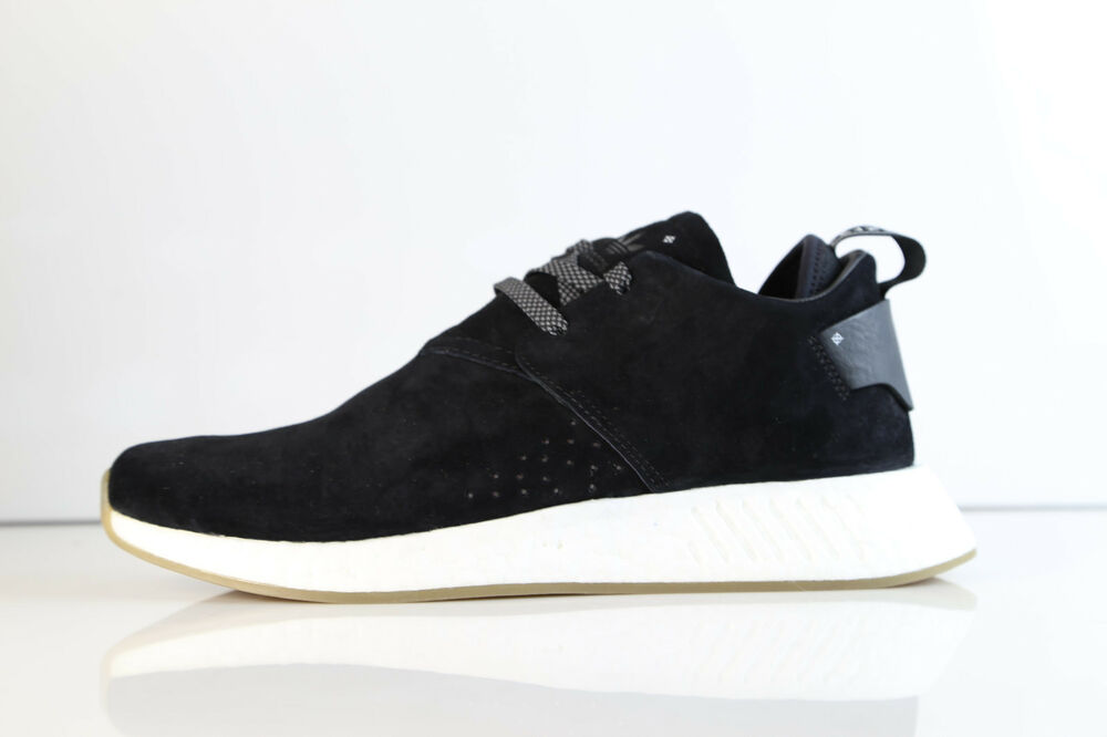 buy popular 1e609 19afa Details about Adidas NMD Chukka C2 Suede Core Black Gum BY3011 7-12.5 cs2  boost nomad premium