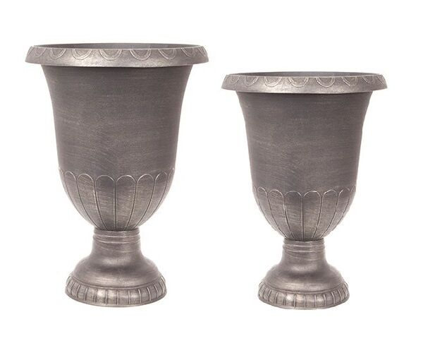 Champagne Large Plant Pots Outdoor Garden Patio Urn Stand