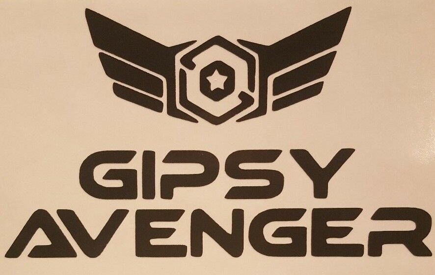 pacific rim gipsy avenger logo vinyl sticker decal choose color size