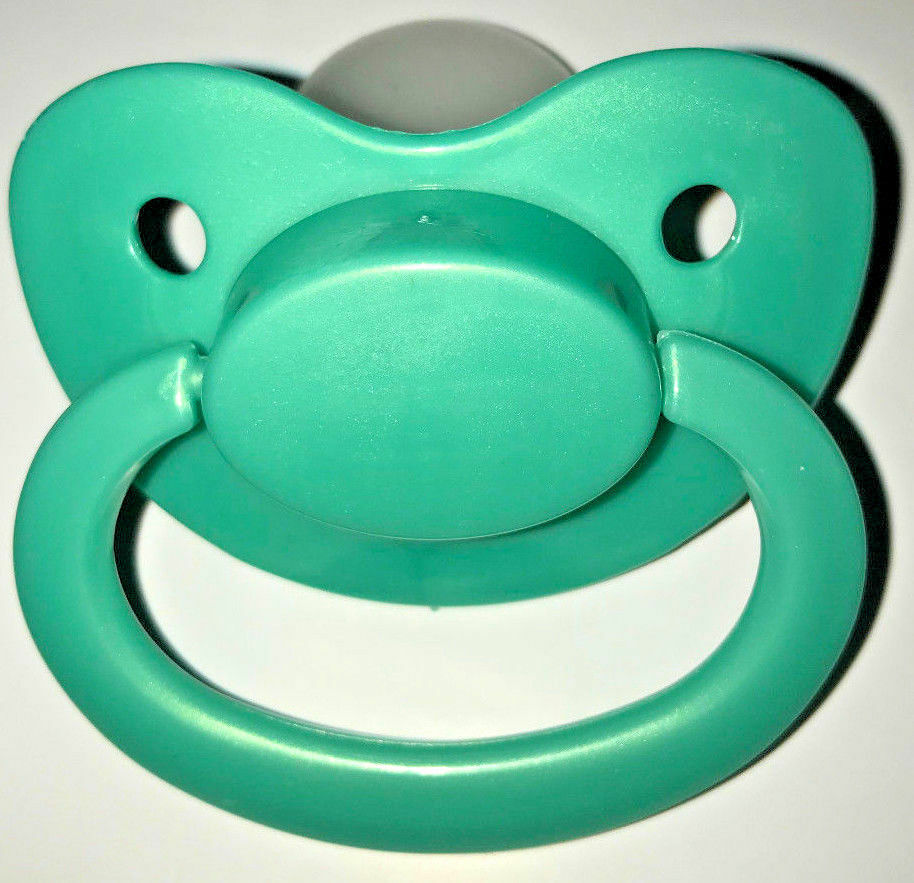 Adult Sized Silicon Pacifier Dummy Big Shield Latex Free