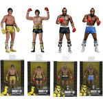 NECA Rocky&Clubber Lang 40th Anniversary Action Figures Series1 Toy NEW SET