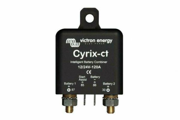 Coupleur de batteries intelligent Victron Energy Cyrix-ct 12/24V 120A