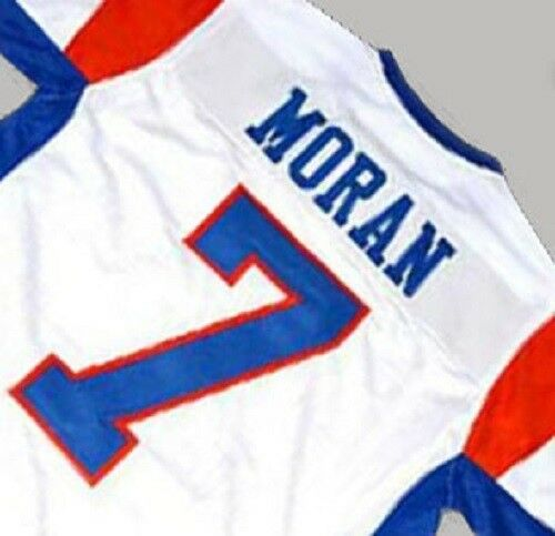 Details about BLUE MOUNTAIN STATE FOOTBALL Jersey ALEX MORAN  7 WHITE SEWN  NEW ANY SIZE 7d7b612e1