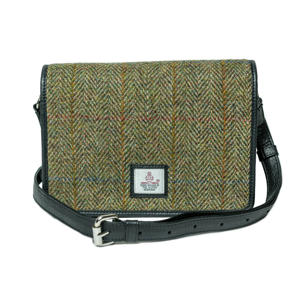 19944e6f7a32 Details about Maccessori Harris Tweed Small Shoulder Bag
