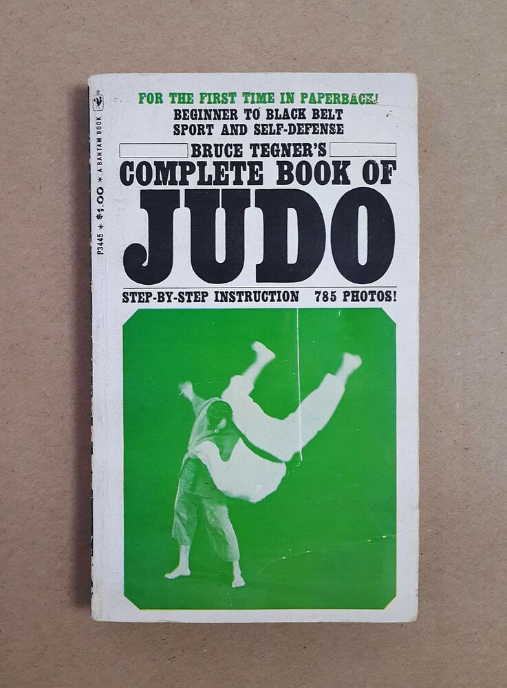 Complete Book Of Judo Bruce Tegner Step By Step Instruction 785