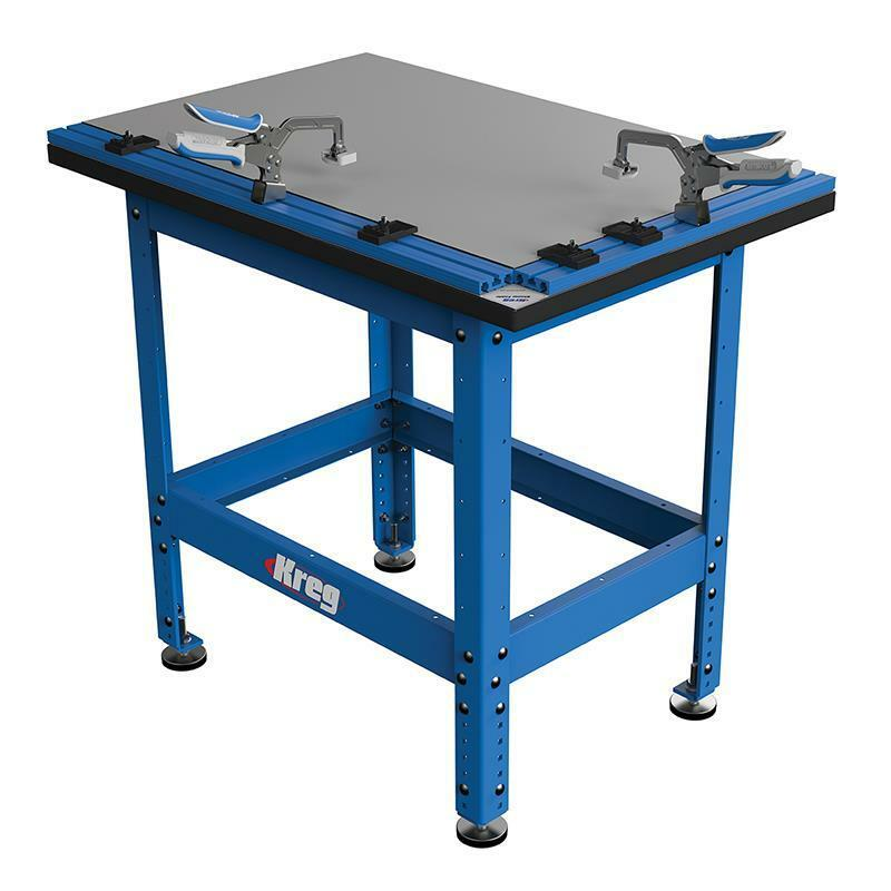 NEW KREG TOOL KCT-COMBO CLAMP TABLE & STEEL STAND w/ AUTOMAXX ...