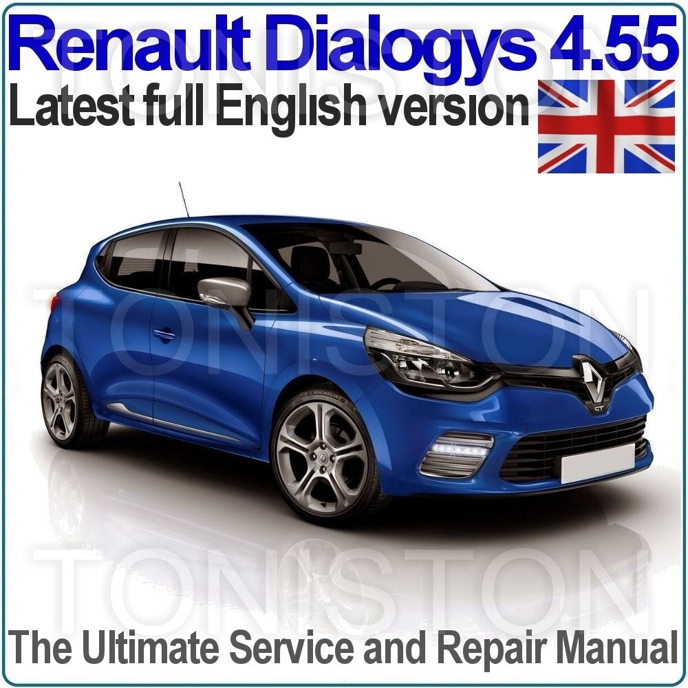 Renault Dialogys v4.55 2016 Workshop Manual and EPC (English Only) All  Models | eBay