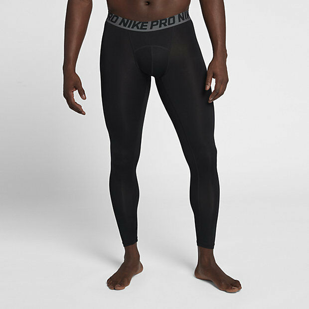 fc272be592 Details about Nike Men s Large - PRO COOL TRAINING TIGHTS - Black 703098 010