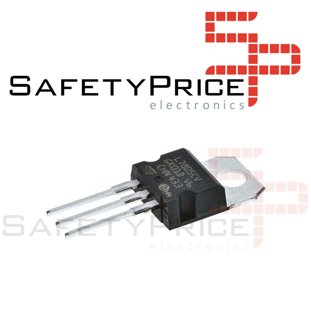 6x Regulator Voltage L7805cv Lm7805 7805 5v 15a To 220 Ebay Increase The Current Ic