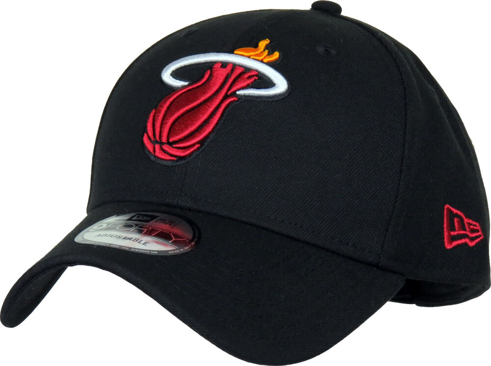 ebcb59229fd Miami Heat New Era 940 The League NBA Team Cap 885430074346