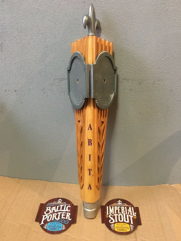 Abita Brewing Company Beer Tap Handle Blank 3 Sided Heavy
