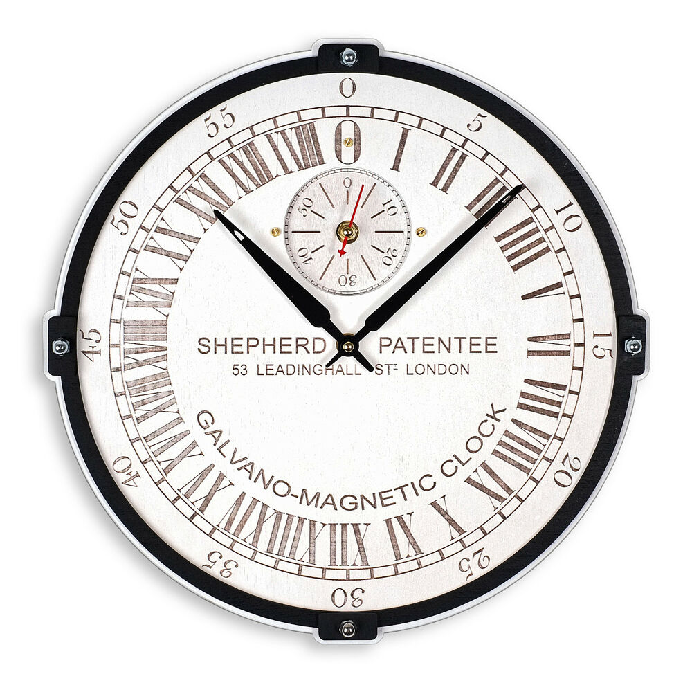 Details About Greenwich Shepherd Gate Unique Large 24 Hour White Vintage Wooden Wall Clock