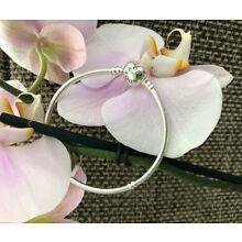 Pandora Heart Clasp Bracelet Sterling Silver All Sizes Available #590719