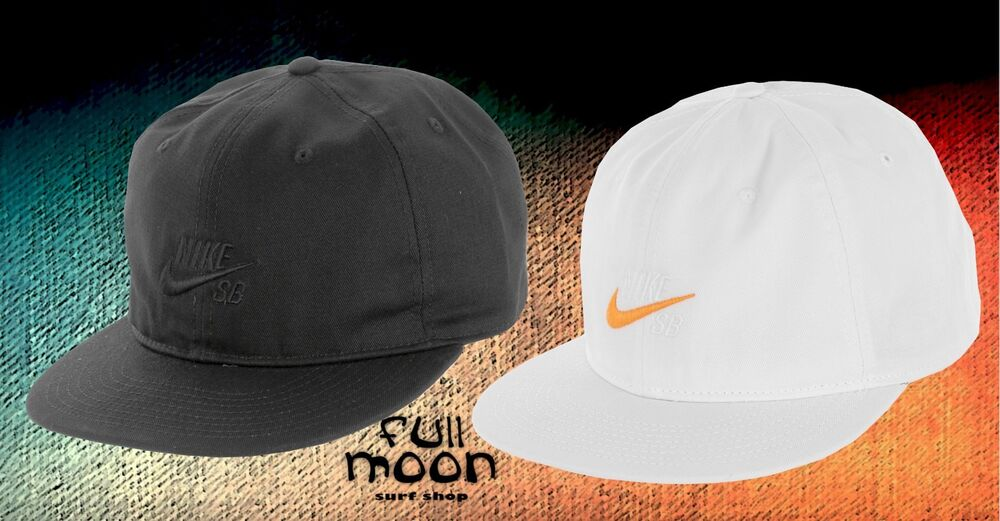 d7d095a2ae6 Details about New Nike Sb Vintage Skateboard Relax Fit Mens Snapback Hat Cap